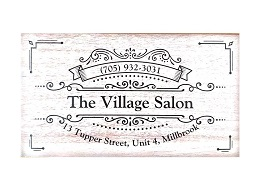 The Village Salon logo